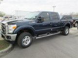 2014 Blue Jeans Metallic Ford F250 Super Duty XLT Crew Cab 4x4 #91642800