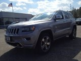 2014 Billet Silver Metallic Jeep Grand Cherokee Overland 4x4 #91642711