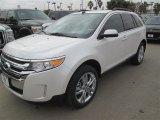 2014 White Platinum Ford Edge Limited #91642797