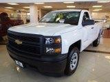 2014 Summit White Chevrolet Silverado 1500 WT Regular Cab #91642707