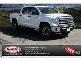 2014 Super White Toyota Tundra SR5 TRD Crewmax 4x4 #91642693
