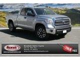 2014 Silver Sky Metallic Toyota Tundra SR5 TRD Double Cab 4x4 #91642692