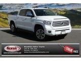 2014 Super White Toyota Tundra Platinum Crewmax 4x4 #91642691