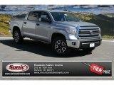 2014 Silver Sky Metallic Toyota Tundra SR5 TRD Crewmax 4x4 #91642689