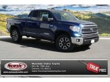 2014 Blue Ribbon Metallic Toyota Tundra SR5 TRD Double Cab 4x4 #91642688