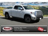 2014 Super White Toyota Tundra Limited Double Cab 4x4 #91642687