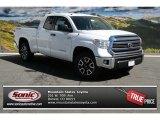 2014 Super White Toyota Tundra SR5 TRD Double Cab 4x4 #91642684