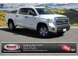 2014 Super White Toyota Tundra SR5 Crewmax 4x4 #91642683
