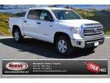 2014 Super White Toyota Tundra SR5 Crewmax 4x4 #91642682