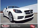 2014 Diamond White Metallic Mercedes-Benz SLK 250 Roadster #91642939