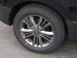Hyundai Tucson 2014 Wheels and Tires
