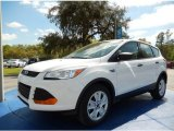 2014 Oxford White Ford Escape S #91642896