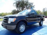 2014 Tuxedo Black Ford F150 XL Regular Cab #91642895