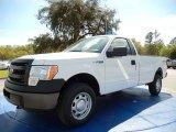 2014 Oxford White Ford F150 XL Regular Cab 4x4 #91642891