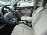 2015 Kia Sorento LX AWD Beige Interior