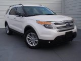 2014 White Platinum Ford Explorer XLT #91704269