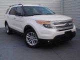 2014 White Platinum Ford Explorer XLT #91704269