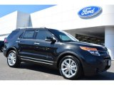 2014 Tuxedo Black Ford Explorer Limited #91704141