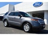2014 Sterling Gray Ford Explorer XLT #91704139