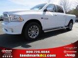 2014 Bright White Ram 1500 Laramie Limited Crew Cab #91704117