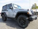 2014 Jeep Wrangler Billet Silver Metallic
