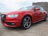 2014 Audi S4 Volcano Red Metallic
