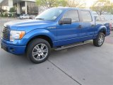 2014 Blue Flame Ford F150 STX SuperCrew #91703988