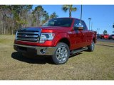 2014 Ruby Red Ford F150 XLT SuperCab #91704409