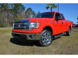2014 Race Red Ford F150 XLT SuperCab #91704408