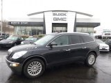 2010 Carbon Black Metallic Buick Enclave CXL AWD #91704218