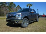 2014 Sterling Grey Ford F150 XLT SuperCrew 4x4 #91704400