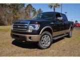 2014 Kodiak Brown Ford F150 XLT SuperCrew 4x4 #91704399
