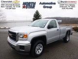 2014 Quicksilver Metallic GMC Sierra 1500 Regular Cab 4x4 #91704203
