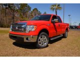 2014 Race Red Ford F150 XLT SuperCab #91754868
