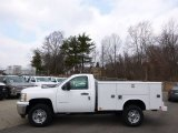 2014 Chevrolet Silverado 2500HD WT Regular Cab 4x4 Utility Truck Data, Info and Specs