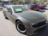 2010 Cyber Gray Metallic Chevrolet Camaro LS Coupe #91754803