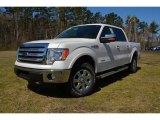2014 White Platinum Ford F150 Lariat SuperCrew 4x4 #91754858