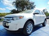 2014 White Platinum Ford Edge Limited #91754728