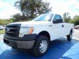 2014 Oxford White Ford F150 XL Regular Cab 4x4 #91754727