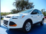 2014 Oxford White Ford Escape S #91754725