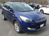 2014 Deep Impact Blue Ford Escape Titanium 2.0L EcoBoost 4WD #91754896