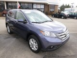 2012 Twilight Blue Metallic Honda CR-V EX-L 4WD #91754944
