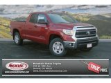 2014 Barcelona Red Metallic Toyota Tundra SR5 Double Cab 4x4 #91754614