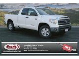 2014 Super White Toyota Tundra SR5 Double Cab 4x4 #91754613
