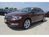 2014 Opera Red Metallic Volkswagen Passat TDI SEL Premium #91754822