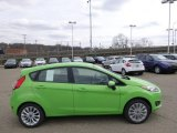 2014 Green Envy Ford Fiesta SE Hatchback #91776609