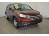 2012 Basque Red Pearl II Honda CR-V LX #91776540