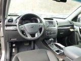 2015 Kia Sorento LX AWD Black Interior