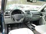 2015 Kia Sorento LX AWD Gray Interior