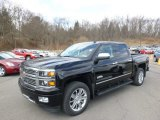 2014 Black Chevrolet Silverado 1500 High Country Crew Cab 4x4 #91776696